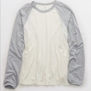 New Aerie Real Soft Baseball Tee - Large